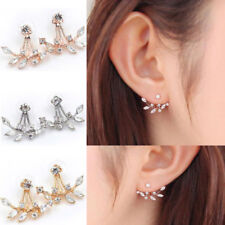 Fashion Pearl Crystal Rhinestone Gold/Silver Plated Earring Ear Stud Jewelry New