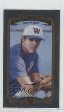 2012 Upper Deck Goodwin Champions Minis Foil #211 Christian Yelich Rookie Card