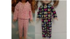 """Pajamas For American Girl 14.5"""" Wellie Wishers Wisher Doll Clothes 277wab"""