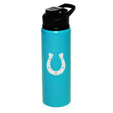 25oz Aluminum Sports Water Bottle Travel Horseshoe