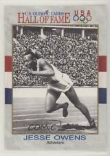 1991 Impel US Olympicards Hall of Fame #1 Jesse Owens Olympic Card