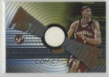 2002-03 Topps Pristine Portions #PPO-DJ DerMarr Johnson Atlanta Hawks Card