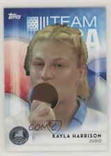 2016 Topps US Olympic & Paralympic Team and Hopefuls Silver #9 Kayla Harrison