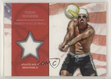 2012 Topps US Olympic Team and Hopefuls Relic #OR-TR Todd Rogers Card