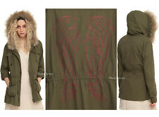 BBC Orphan Black HELENA ANORAK Jacket faux fur REMOVABLE Hood LIMITED Hot Topic