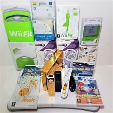 Custom Nintendo Wii Console Bundles -Fit Balance Board =Family gift xmas day fun