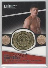 2011 Topps UFC Title Shot Championship Belt Plate Relic #CB-STC Steve Cantwell