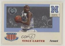 2001-02 Fleer Greats of the Game All-American Collection #2AA Vince Carter Card