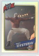 2008 Topps WWE Heritage Chrome Refractors #3 Rey Mysterio Jr. Wrestling Card