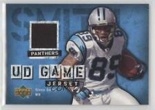 2006 Upper Deck UD Game Jersey GJ-SS Steve Smith Carolina Panthers Football Card