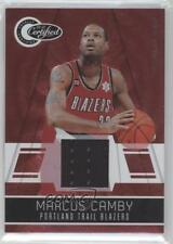 2010-11 Totally Certified Red Materials Memorabilia #140 Marcus Camby Card