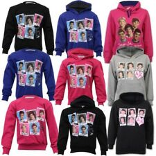 Girls One Direction Sweatshirt Kids Hooded 1D Top Pullover Fleece Casual Winter