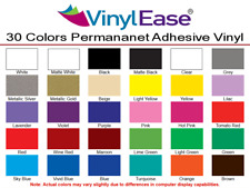 1 Roll 24in x 30ft Permanent Craft Vinyl LIKE Oracal 651 UPICK from 30 Colors