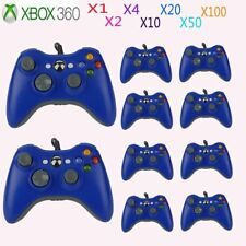 LOT Blue USB Wired Game Remote Controller for Microsoft Xbox 360 PC Windows SE