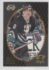 1996-97 Pinnacle Summit 133 Teemu Selanne Anaheim Ducks (Mighty of Anaheim) Card