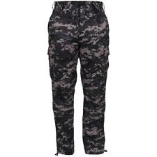 Subdued Urban Digital Camouflage - Military BDU Pants - Cotton Polyester Twill