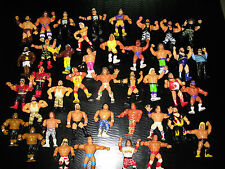 WWF HASBRO Action Figure Lot! RARE! WWE Hogan Macho Warrior Piper Shawn WWE WCW