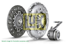 FIAT STILO 1.9D Clutch Kit 3pc (Cover+Plate+CSC) 01 to 08 240mm LuK Quality New (Fits: More than one vehicle)