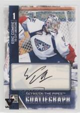 2013 In the Game Between Pipes GoalieGraph ITG Vault Black A-EC Eric Comrie Auto