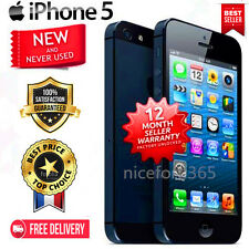 Apple iPhone 5/4S 16-32-64GB Black White Verizon Wireless 4G LTE Smartphone US++