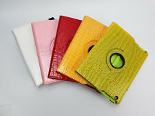Reptile Pattern 360 Folio Cover Stand Case iPad 2 3 4 / 2nd 3rd 4th Gen 9.7