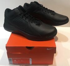 Nike The Overplay VIII Mens Black Leather Basketball Shoes - New -  13 Medium