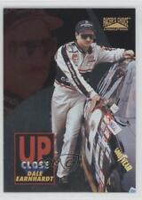 1996 Pinnacle Racer's Choice Up Close with #1 Dale Earnhardt Racing Card