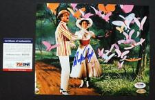 DICK VAN DYKE SIGNED PSA/DNA Autograph Mary Poppins 8x10 Photo w Julie Andrews 7