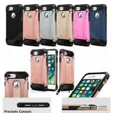 For Apple iPhone 7 - Hybrid Armor Impact Proof Rugged Armour Case & Mini Pen