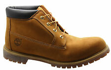 Timberland AF Heritage Waterproof Chukka Mens Boots Wheat Leather Lace 23061 U2