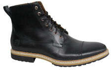Timberland West Haven Side Zip Lace Up Chukka Mens Leather Boots Black A12UJ D69