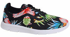 Vans Iso 1.5 Lace Up Unisex Black Floral Patterned Trainers XB8HEY Vans A