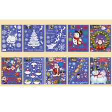Removable Christmas Home Decor PVC Art Wall Stickers Windows Tree Decals Xmas