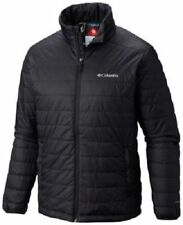 NWT COLUMBIA MENS CRESTED BUTTE II JACKET INSULATED OMNI HEAT BLACK