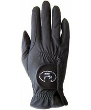 Roeckl Women's Riding Gloves Lisboa black Roeck-grip Swarovski Touchscreen