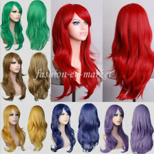Party Wig Long Straight Wave Curl Cosplay Wig Synthetic Hair Wigs Party Full Wig