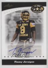 2011 Leaf US Army All-American Bowl #BA-TJ1 Timmy Jernigan Auto Football Card