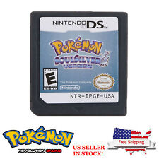 New Pokemon SoulSilver USA Version Game Cards For Nintendo 3DS NDSi NDS In Stock