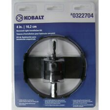 Kobalt Carbide-Grit/ Bi-Metal  Hole Saw Kit Drill Bits Saws Accessories Saws