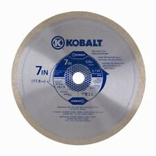 Kobalt 7 4-in 1-Tooth/Wet Cut Continuous Diamond Circular Saw Blade Blades Tools