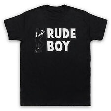 RUDE BOY JAMAICAN STREET CULTURE SLOGAN 2 TONE SKA FAN MENS WOMENS KIDS T-SHIRT