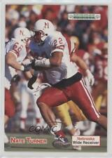 1992 Gridiron #58 Nate Turner Nebraska Cornhuskers Rookie Football Card