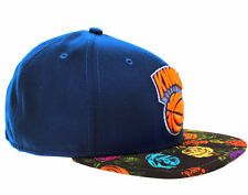 New Era 59Fifty New York Knicks Visor Real Floral Top Men's Fitted Hat 5950