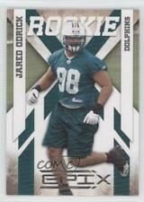 2010 Panini Epix Silver #139 Jared Odrick Miami Dolphins Rookie Football Card