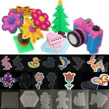 Large Pegboard Kids Toys Clear Board Hot for 5mm Perler Bead Hama Fuse Beads