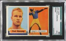 1957 Topps #151 Paul Hornung SGC 50 Green Bay Packers RC Rookie Football Card