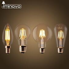 LED Filament Bulb E27 Retro Edison Lamp 220V E14 Candle Light Globe Chandelier