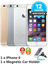 Apple iPhone 6 16/64/128GB (GSM Unlocked) iOS Smartphone - Gold/Silver/Gray UL+