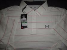 UNDER ARMOUR GOLF COLD BLACK STYLE POLO SHIRT SIZE  XL L MEN NWT $64.99
