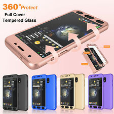 Tempered Glass Case for Samsung Galaxy J7 Sky Pro
